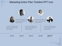 Marketing Action Plan Timeline Ppt PowerPoint Presentation Styles