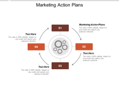 Marketing Action Plans Ppt Powerpoint Presentation Show Slide Cpb