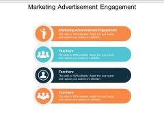 Marketing Advertisement Engagement Ppt PowerPoint Presentation Gallery Cpb