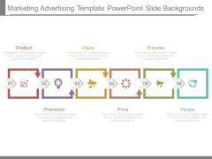 Marketing Advertising Template Powerpoint Slide Backgrounds
