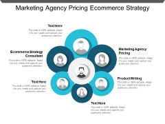 Marketing Agency Pricing Ecommerce Strategy Consultant Product Writing Ppt PowerPoint Presentation Infographics Model
