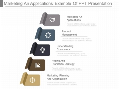 Marketing An Applications Example Of Ppt Presentation