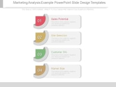 Marketing Analysis Example Powerpoint Slide Design Templates