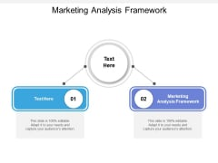 Marketing Analysis Framework Ppt PowerPoint Presentation Model Template Cpb