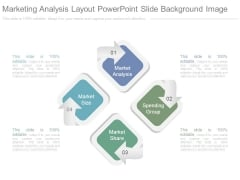 Marketing Analysis Layout Powerpoint Slide Background Image
