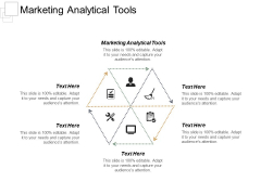 Marketing Analytical Tools Ppt PowerPoint Presentation Infographics File Formats Cpb