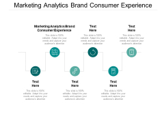 Marketing Analytics Brand Consumer Experience Ppt PowerPoint Presentation Pictures Design Inspiration Cpb