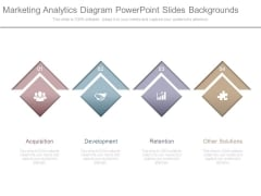 Marketing Analytics Diagram Powerpoint Slides Backgrounds