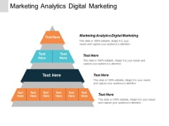 Marketing Analytics Digital Marketing Ppt PowerPoint Presentation Slides Demonstration Cpb