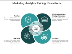 Marketing Analytics Pricing Promotions Ppt PowerPoint Presentation Infographics Inspiration Cpb
