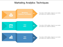 Marketing Analytics Techniques Ppt PowerPoint Presentation Infographics Images Cpb