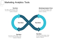 Marketing Analytics Tools Ppt PowerPoint Presentation Professional Maker Cpb