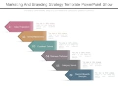 Marketing And Branding Strategy Template Powerpoint Show