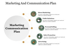 Marketing And Communication Plan Ppt PowerPoint Presentation Outline Slides