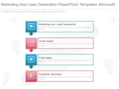 Marketing And Lead Generation Powerpoint Templates Microsoft