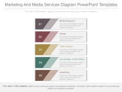 Marketing And Media Services Diagram Powerpoint Templates