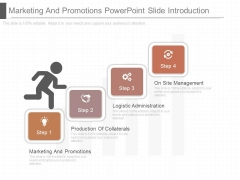 Marketing And Promotions Powerpoint Slide Introduction