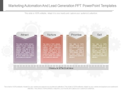 Marketing Automation And Lead Generation Ppt Powerpoint Templates