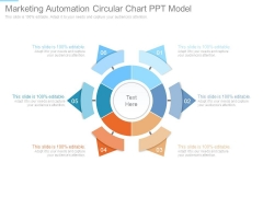 Marketing Automation Circular Chart Ppt Model