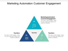 Marketing Automation Customer Engagement Ppt PowerPoint Presentation Summary