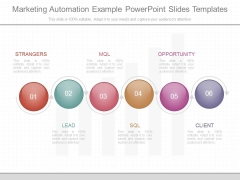 Marketing Automation Example Powerpoint Slides Templates