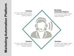 Marketing Automation Platform Ppt PowerPoint Presentation Infographic Template Deck Cpb