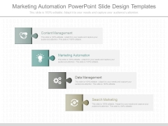 Marketing Automation Powerpoint Slide Design Templates