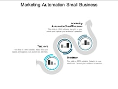 Marketing Automation Small Business Ppt PowerPoint Presentation Outline Ideas Cpb