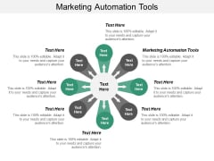 Marketing Automation Tools Ppt PowerPoint Presentation Ideas Microsoft Cpb