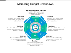 Marketing Budget Breakdown Ppt PowerPoint Presentation File Graphics Template Cpb