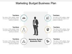 Marketing Budget Business Plan Ppt PowerPoint Presentation Styles Example Topics Cpb