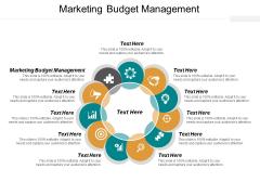 Marketing Budget Management Ppt PowerPoint Presentation Background Designs Cpb