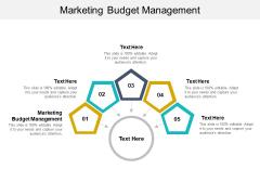 Marketing Budget Management Ppt PowerPoint Presentation Ideas Microsoft Cpb Pdf