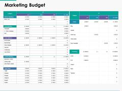 Marketing Budget Management Ppt Powerpoint Presentation Inspiration Mockup
