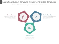 Marketing Budget Template Powerpoint Slides Templates