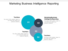 Marketing Business Intelligence Reporting Ppt PowerPoint Presentation Summary Icons Cpb