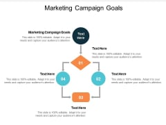 Marketing Campaign Goals Ppt PowerPoint Presentation Outline Themes Cpb