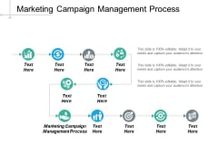 Marketing Campaign Management Process Ppt PowerPoint Presentation Icon Images Cpb