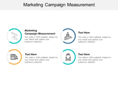 Marketing Campaign Measurement Ppt PowerPoint Presentation Model Format Cpb