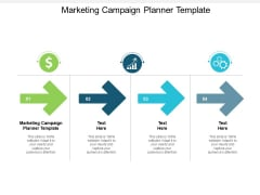 Marketing Campaign Planner Template Ppt PowerPoint Presentation Outline Grid Cpb