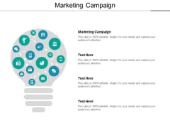 Marketing Campaign Ppt PowerPoint Presentation Summary Model Cpb