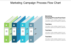 Marketing Campaign Process Flow Chart Ppt PowerPoint Presentation Slides Icon Cpb