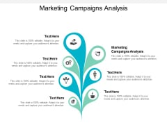 Marketing Campaigns Analysis Ppt PowerPoint Presentation Infographics Icon Cpb