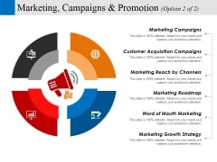 Marketing Campaigns And Promotion Template 2 Ppt PowerPoint Presentation Portfolio Slides