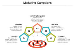 Marketing Campaigns Ppt Powerpoint Presentation Inspiration Example Cpb