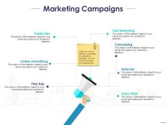 Marketing Campaigns Ppt PowerPoint Presentation Inspiration Portfolio