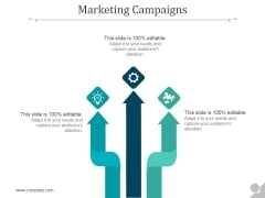 Marketing Campaigns Ppt PowerPoint Presentation Outline