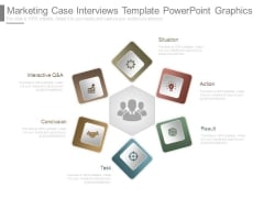 Marketing Case Interviews Template Powerpoint Graphics