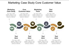 Marketing Case Study Core Customer Value Marketing Tools Ppt PowerPoint Presentation Portfolio Slides