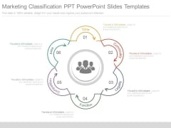 Marketing Classification Ppt Powerpoint Slides Templates